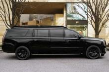 Mewahnya Cadillac Escalade ESV, Pasang Bodi Anti Peluru