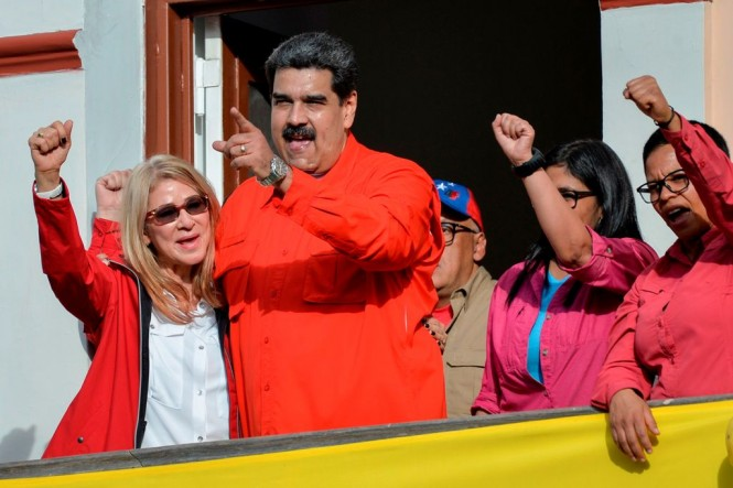Presiden Venezuela Nicolas Maduro. (Foto: AFP)