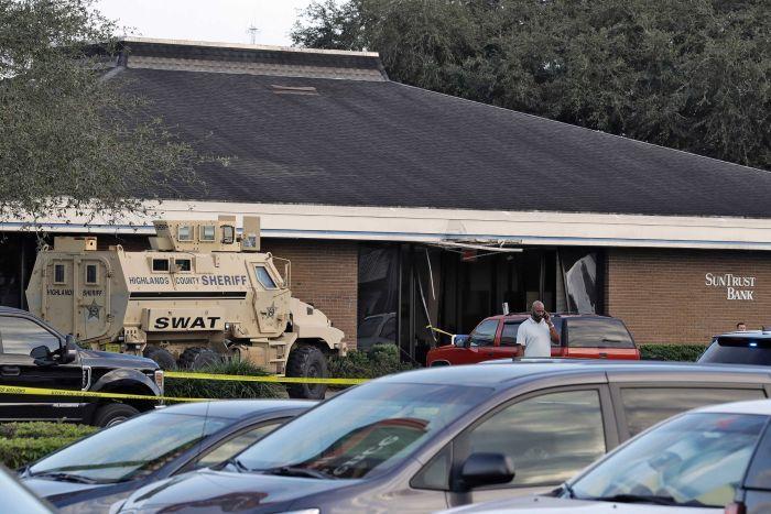 Lokasi penembakan di Florida. (Foto: ABC)