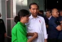 Azinta dan Presiden Jokowi--Istimewa