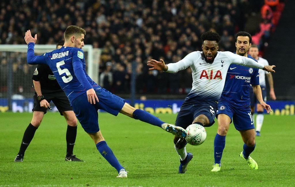 Chelsea vs Tottenham (Foto AFP/GLYN KIRK)