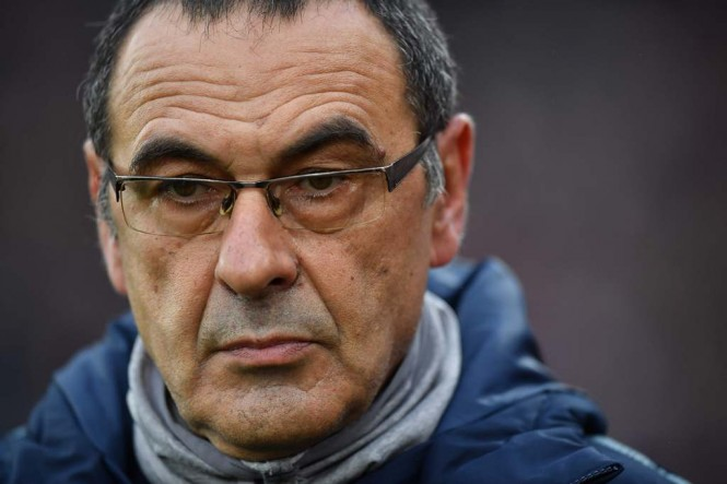 Maurizio Sarri (AFP/BEN STANSALL)