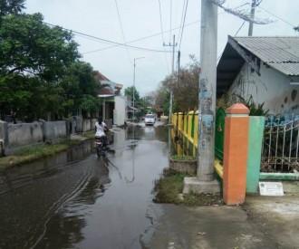 Banjir Dua Dusun di Sidoarjo Berangsur Surut