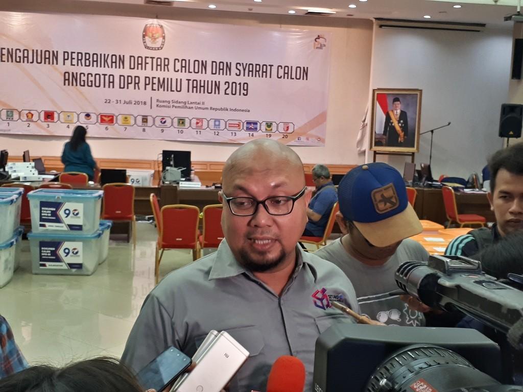 Komisioner KPU Ilham Saputra - Medcom.id/Dian Ihsan Siregar.