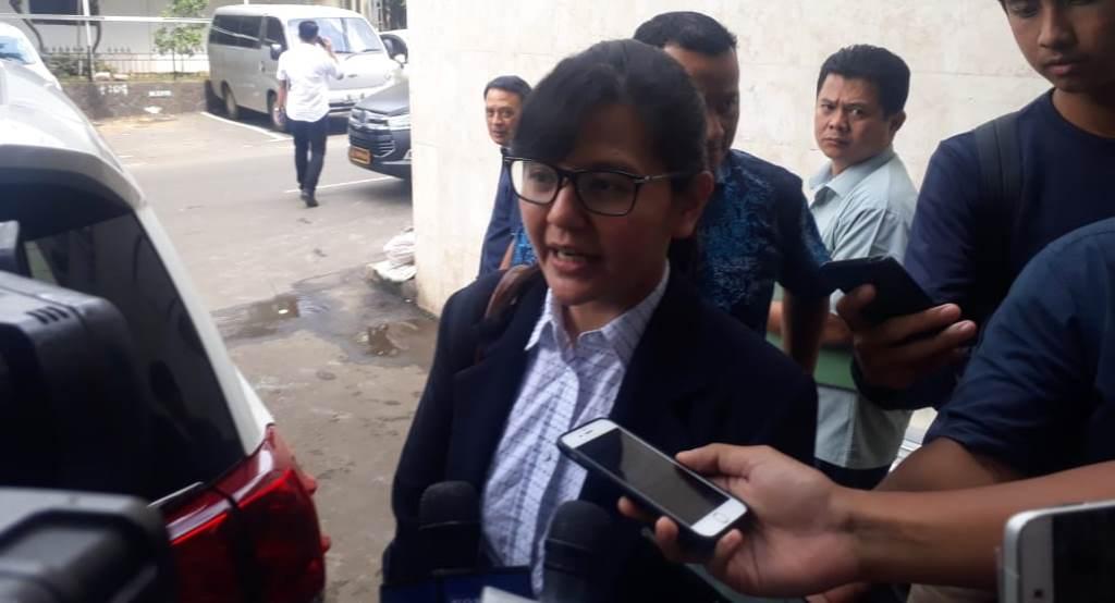 Sekretaris Jendral PSSI Ratu Tisha Destria. (Foto: medcom.id/Ilham Pratama Putra)