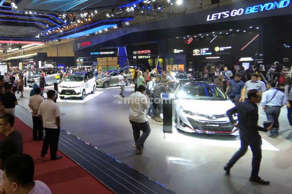 Target penjualan mobil di 2019 diharap meningkat. Medcom.id/Ahmad Garuda