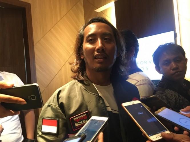 Ketua Bravo 5 Jawa Timur, Ubaidillah Amin di sela Rapat Kerja Daerah (Rakerda) Bravo 5 Jatim di Hotel Samator, Surabaya, Kamis, 24 Januari 2019. Medcom.id/ Amalludin.