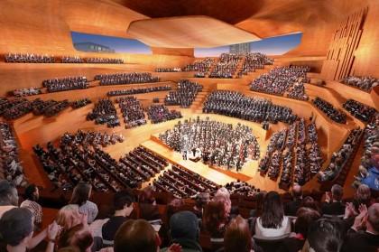 Piramida Megah untuk Kelompok Orkestra Tertua