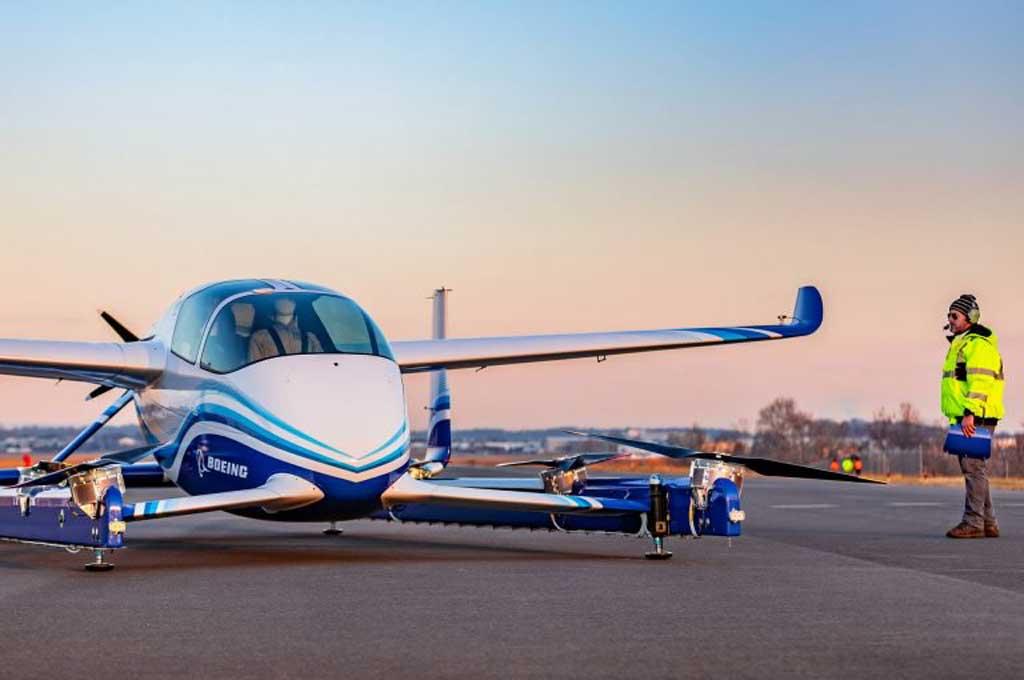 Autonomous Passenger Air Vehicle prototype. Carscoops
