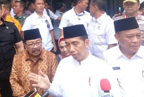 Jokowi Heran Masih Dibilang Anti Islam