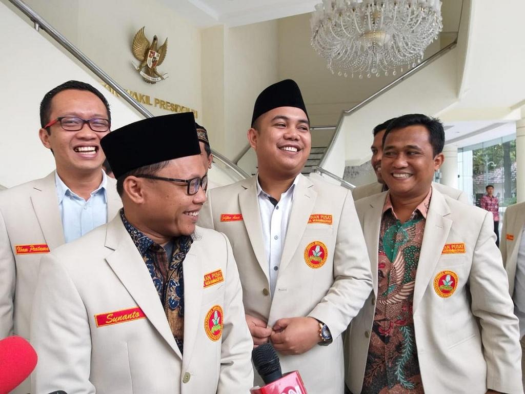 Muhammadiyah Youth chairman Sunanto (left) (Photo: Medcom.id/Fikar)