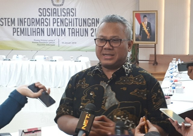 Ketua KPU Arief Budiman. Foto: Medcom.id/Faisal Abdalla.