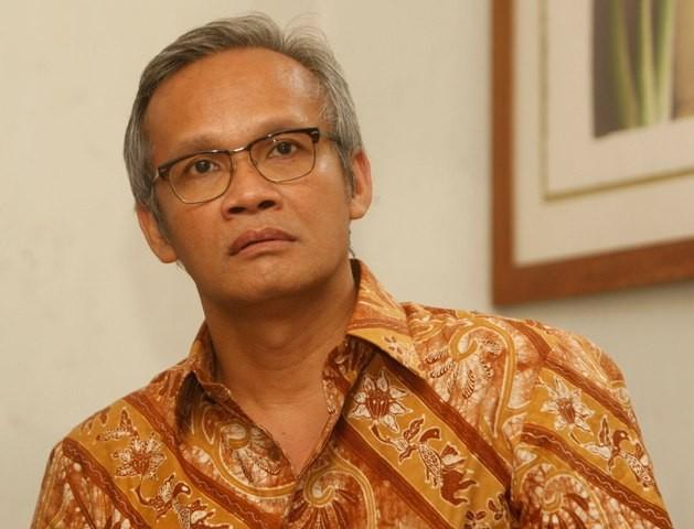 Direktur Program Tim Kampanye Nasional (TKN) Joko Widodo-Ma'ruf Amin, Aria Bima. Foto: MI/Rommy Pujianto