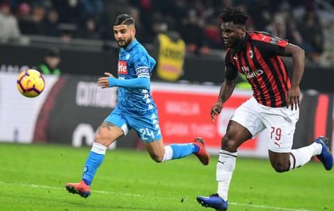 Milan Kontra Napoli Berakhir Tanpa Pemenang