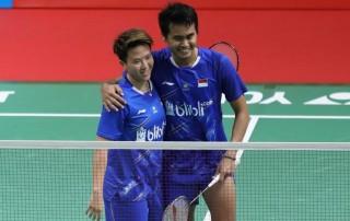 Lolos ke Final, Liliyana Berterimakasih kepada Tontowi
