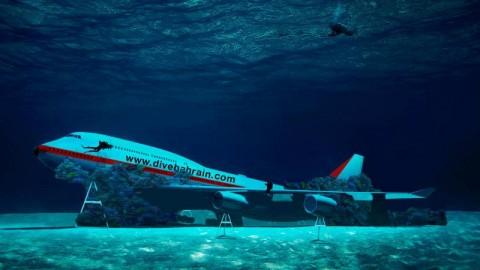 Buka Wisata Bawah Laut, Bahrain Ceburkan Pesawat Boeing 747