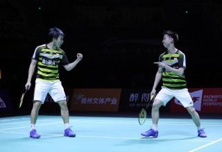 Kalahkan Hendra/Ahsan, Marcus/Kevin Amankan Gelar Indonesia Masters