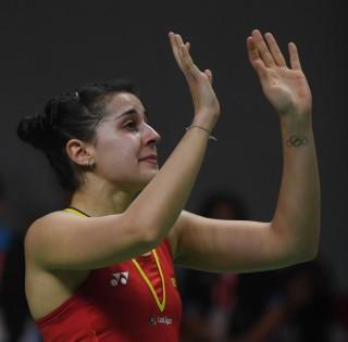 Cedera saat Bertanding, Carolina Marin Mundur dari Final