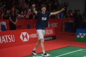 Tundukkan Kento Momota, Anders Antonsen Juara Indonesia Masters 2019
