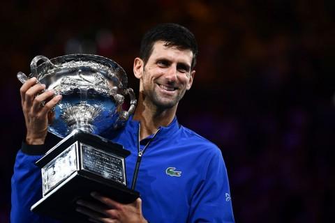 Taklukkan Nadal, Djokovic Cetak Rekor di Australia Open