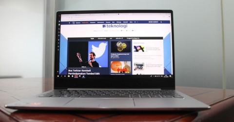 Lenovo IdeaPad 720s, Tipis dan Performa Oke