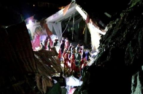 Tanah Longsor Hantam Hotel Peru, 15 Orang Tewas