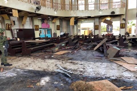 ISIS Klaim Berada di Balik Ledakan Gereja Filipina