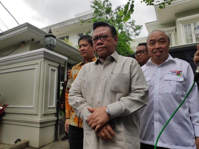 Ketua Dewan Pakar Partai Golkar Agung Laksono/Medcom.id/Adin