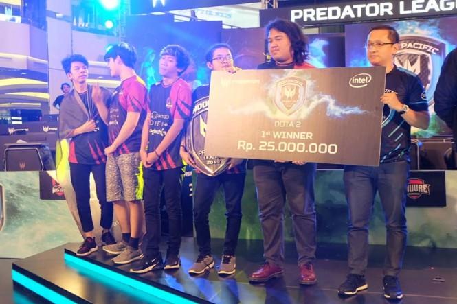 BOOM.ID sebagai juara pertama Acer APAC Predator League 2019.