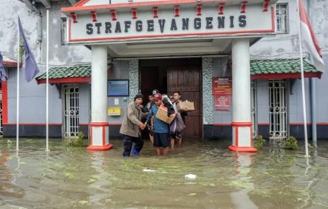 Sering Banjir, Lapas Pekalongan Segera Direlokasi