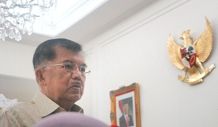 Vice President Jusuf Kalla (Photo:Medcom/Dheri)
