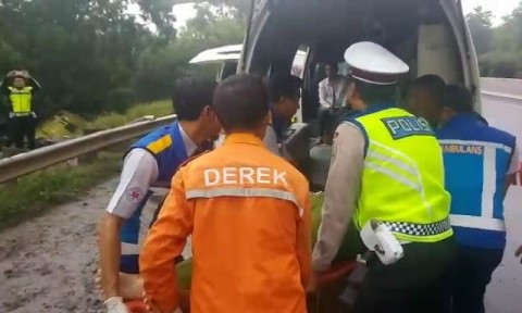 Polisi Selidiki Penyebab Pasti Kecelakaan Bus di Cipularang