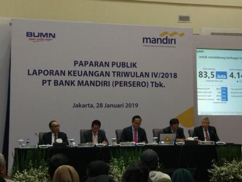 Laba Bank Mandiri Tembus Rp25 Triliun