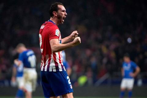 Godin Tambah Daftar Cedera Pemain Atletico Madrid