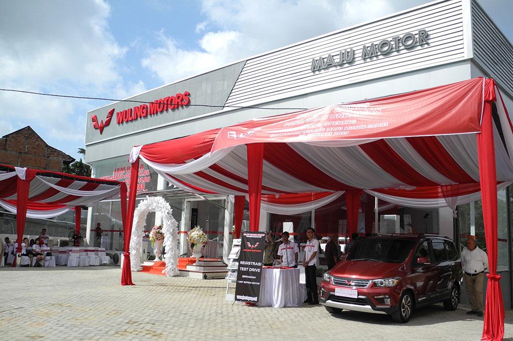 Wuling membuka dealer baru di Jambi. Wuling Motors