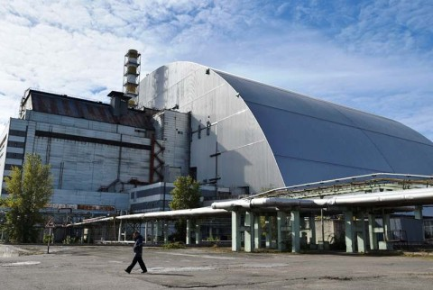 New Safe Confinement, 'Kurungan' Baja untuk Chernobyl
