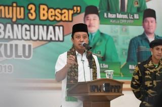 PPP Siap Berjuang Keras Rebut Kursi DPR RI di Bengkulu