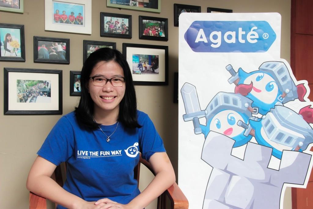 Co-founder dan CMO Agate, Shieny Aprilia.