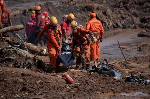 Korban Bendungan Jebol Brasil Capai 84 Orang