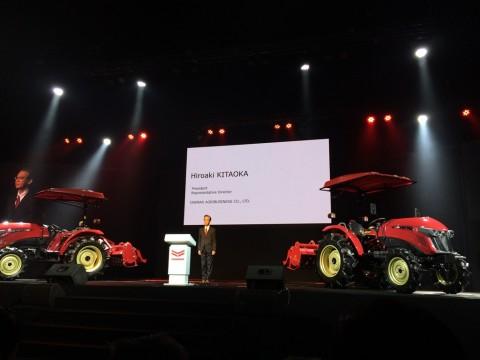 Traktor Baru Yanmar Tingkatkan Efisiensi Produksi Pertanian