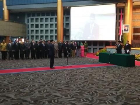 Menristekdikti Lantik Hammam Riza Jadi Kepala BPPT