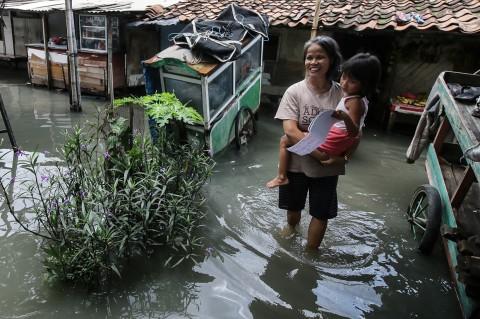 Kawasan Rawa Buaya Digenangi Banjir