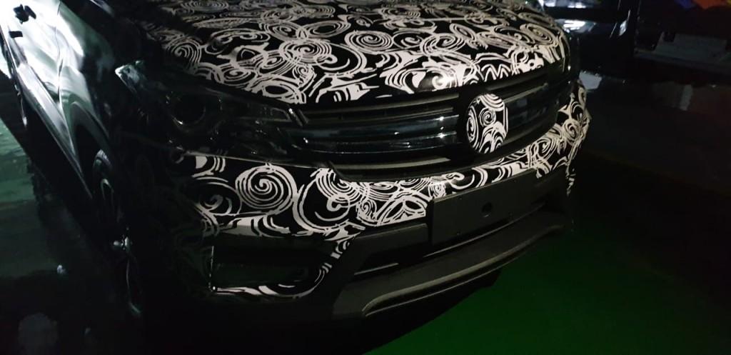 Tampilan fascia SUV terbaru DFSK. Instagram.com/Agus8622