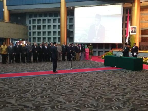 Pelantikan Kepala BPPT, Hammam Riza, Medcom.id/Intan Yunelia.