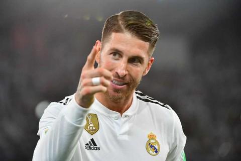 Ramos Terancam Absen di Leg Kedua Copa del Rey