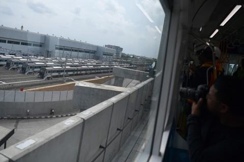 Pembangunan MRT Masuk Tahap Akhir