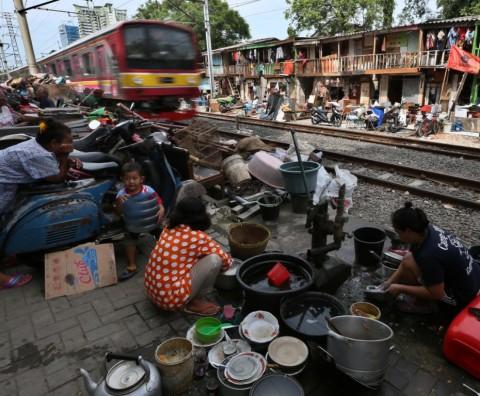 Kemiskinan Picu Kemunculan Kampung Kumuh