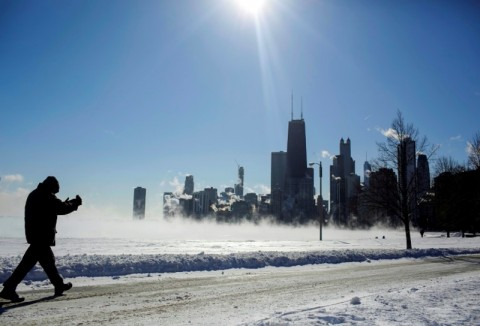 Suhu Anjlok, Cuaca AS Lebih Dingin Dibanding Antartika