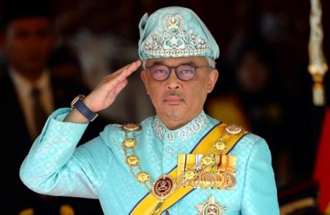 Sultan Pahang Resmi Naik Takhta Sebagai Raja Malaysia