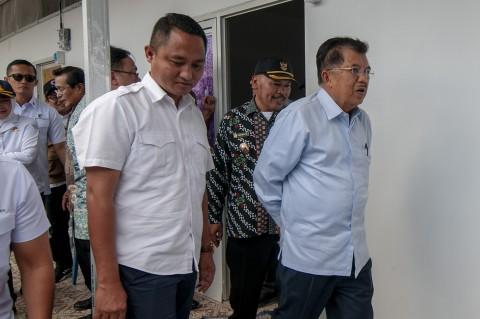 JK Tinjau Hunian Sementara Korban Gempa Sulteng